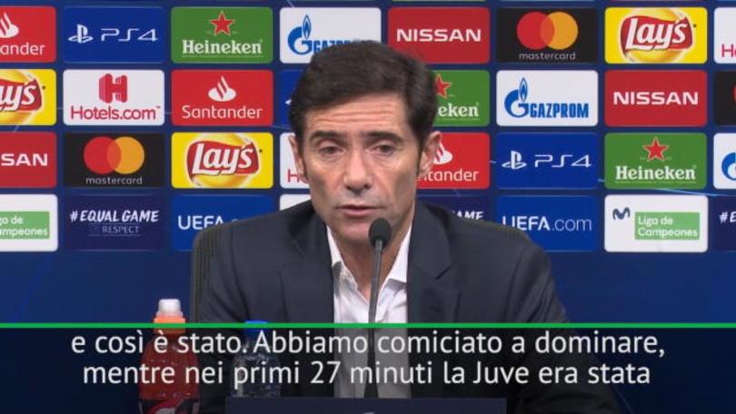 "Marcelino:""Juventus vincente anche senza CR7"""