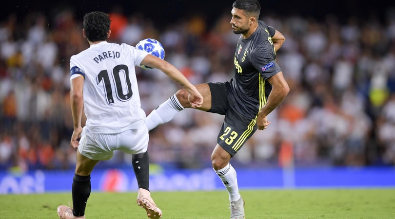 Champions League, Emre Can sul rosso a CR7: