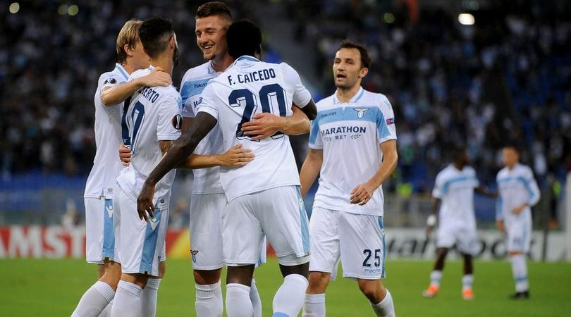 La Lazio ha vinto 2-1 contro l'Apollon, in Europa League