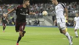Europa League Dudelange-Milan 0-1, il tabellino
