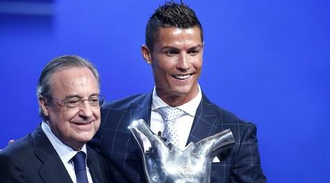 Florentino Perez:«Ronaldo alla Juventus? Ecco come è andata»