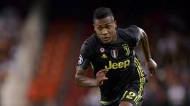 Juventus, Alex Sandro: «Mai pensato di andar via»
