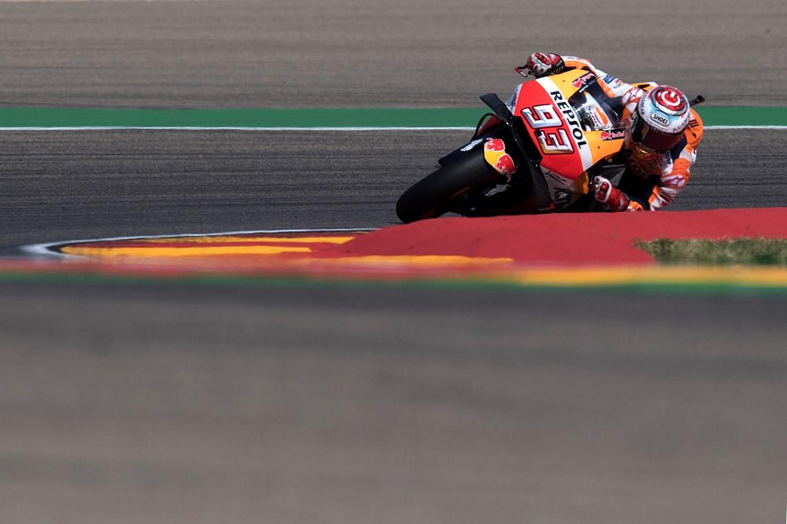MotoGp Aragon, Libere 3: Marquez guida, Rossi è solo 18° - Corriere dello Sport