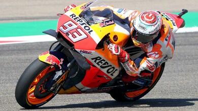MotoGp Aragon, Marquez favorito a 2,50 nel deserto