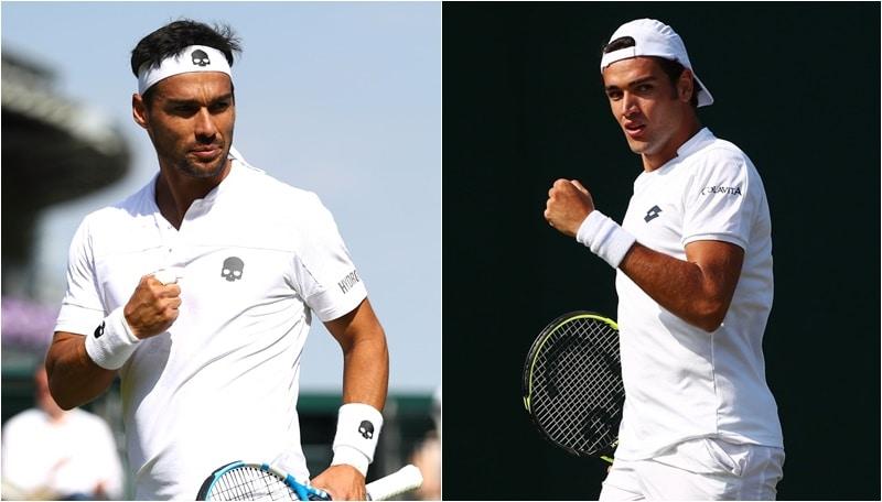 Tennis, San Pietroburgo: Berrettini e Fognini in finale nel doppio