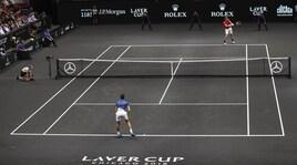 Tennis, Laver Cup: Europa-Mondo 7-5. Djokovic ko