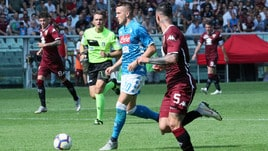 Serie A Torino-Napoli 1-3, il tabellino