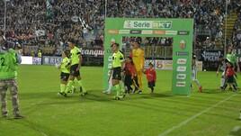 Serie B, Giudice sportivo: due giornate a Panico