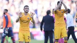 Roma contestata dai tifosi a Bologna