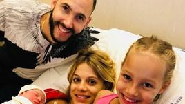 Volley: Juantorena festeggia la nascita di Angelica
