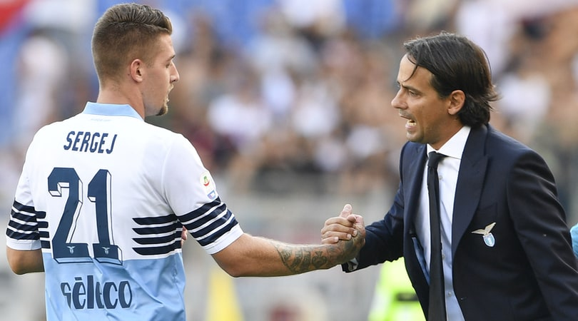 Simone Inzaghi: Complimenti al Bologna. Milinkovic più gioca meglio è
