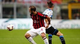 Milan-Atalanta, la partita in foto