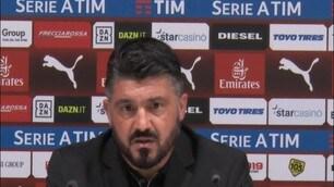 """Gattuso: """"Dobbiamo capire il perchè di questi blackout"""""""