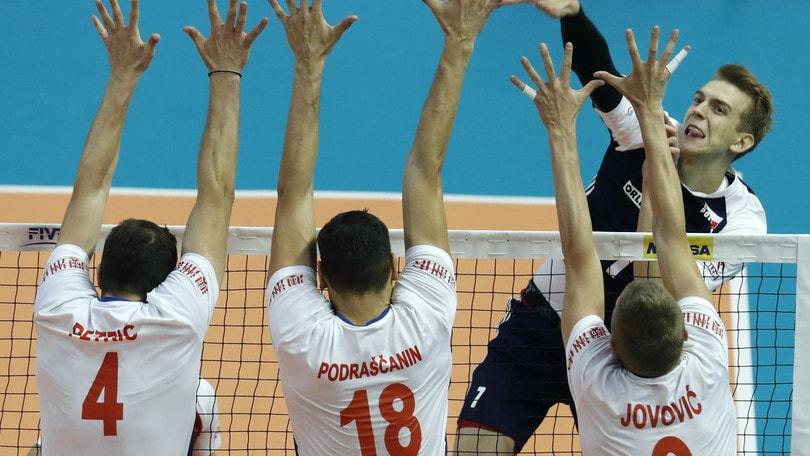 Volley: Mondiali 2018, la Polonia batte la Serbia e va alla Final Six