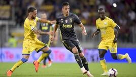 Serie A Frosinone-Juventus 0-2, il tabellino