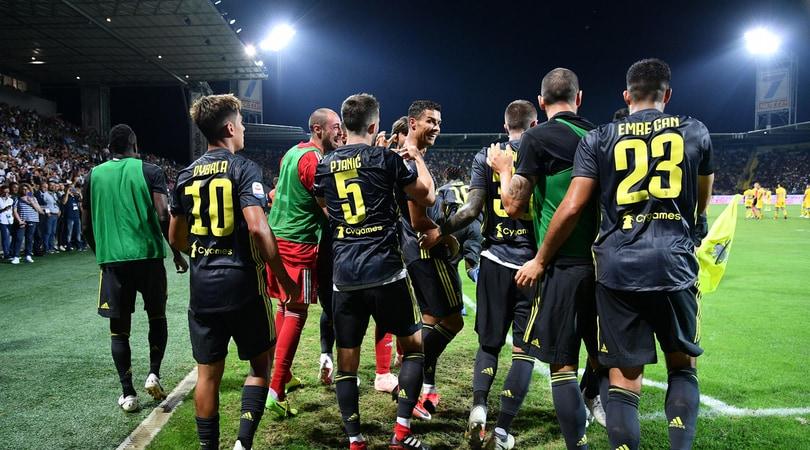 Serie A, Cristiano Ronaldo decisivo a Frosinone