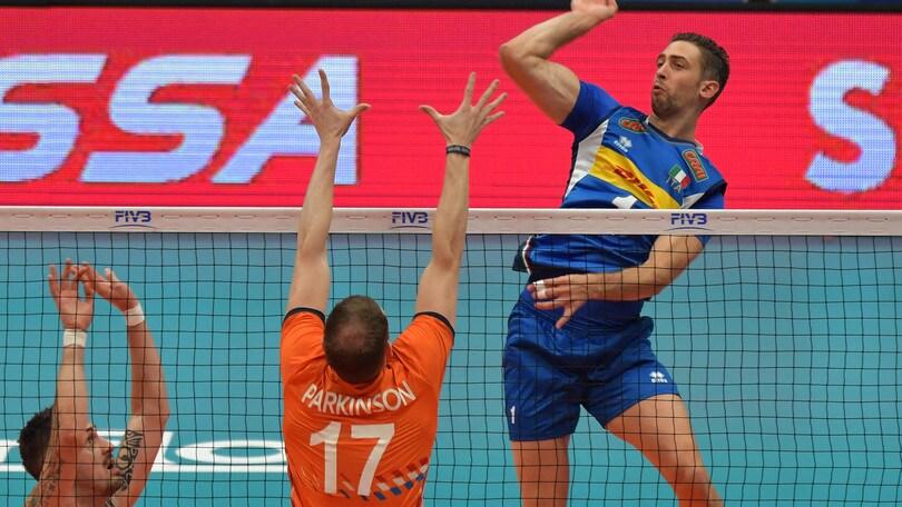 Volley: Mondiali 2018, l'Italia due mette sotto l'Olanda