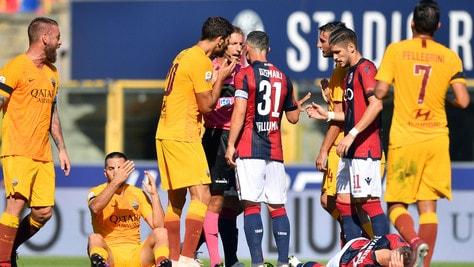 Moviola serie A, Juventus: regolare lo 0-1. Roma, Cristante rischia il rosso