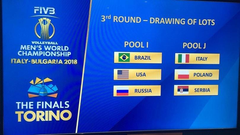 Mondiali di Pallavolo, con chi giocherà l'Italia nella Final Six
