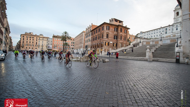 Granfondo Campagnolo Roma: National Bike to Work Day