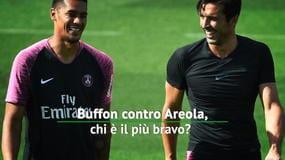 Buffon contro Areola, chi meglio per ora?