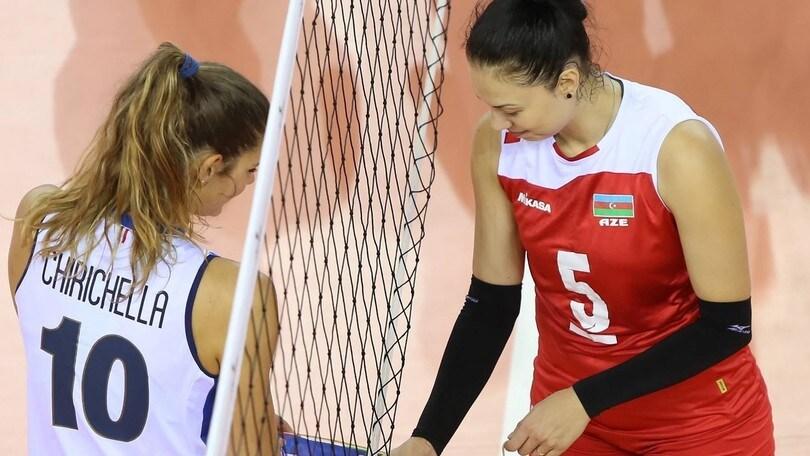 Volley: per l'Italia Femminile due test-match con l'Azerbaijan