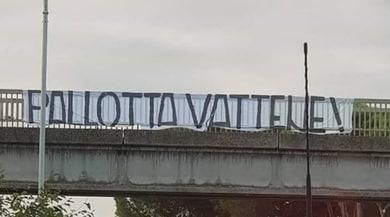 Roma, altro striscione contro Pallotta