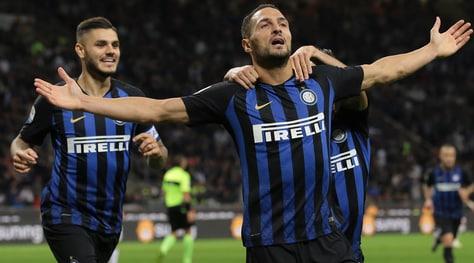 Inter-Fiorentina 2-1, Icardi cala il tris nerazzurro:gol e assist per D'Ambrosio