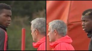 Mourinho-Pogba, sguardi torvi: in allenamento cala il gelo