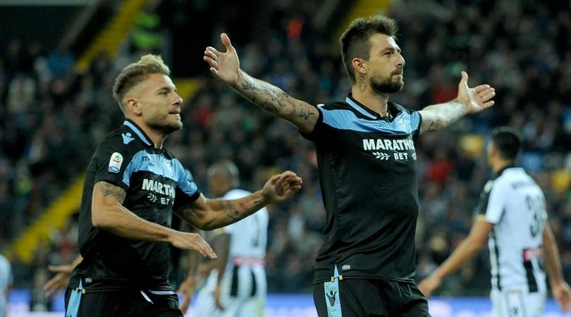 Serie A, Udinese-Lazio 1-2: la Lazio cala il poker con Acerbi e Correa ed è terza