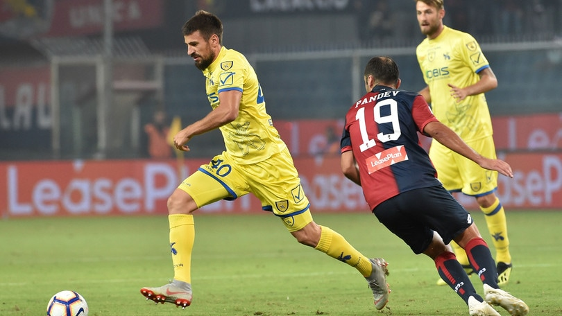 Serie A Chievo, lesione agli adduttori per Tomovic