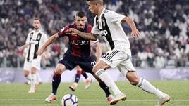 Serie A Juventus-Bologna 2-0, il tabellino