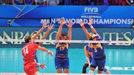 Volley: Mondiali 2018, l'Italia murata dalla Serbia