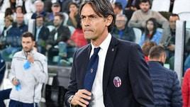 Serie A Bologna, Inzaghi: «Proibitiva, ma ci abbiamo provato»