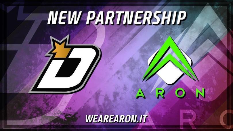 iDomina eSports: annunciata la collaborazione con Aron