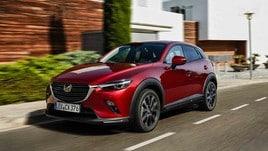 Mazda CX-3, su strada il modello 2018