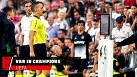 Champions, utilizzo Var dal 2019/20