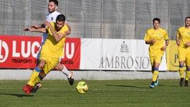 Serie C, Lucchese e Carrarese si dividono la posta. La Juve B strapazza il Cuneo