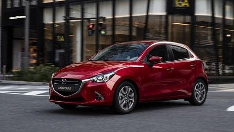 Mazda 2, il futuro è nei benzina Euro 6d