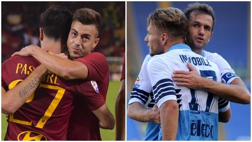 Roma-Lazio streaming e diretta TV: dove vedere il derby oggi dalle 15