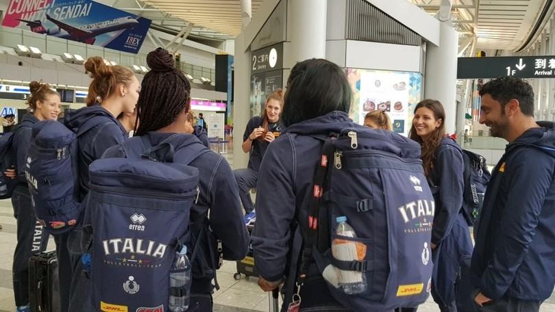 Volley: Mondiali Femminili, l'Italia ha  raggiunto Sapporo, sabato la sfida con la Bulgaria
