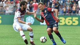 Serie A Bologna, differenziato per Poli e Palacio