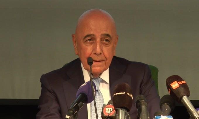 """Galliani: """"Berlusconi mi ha regalato un sogno.."""""""