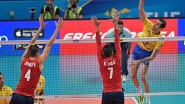 Volley: Mondiali 2018, il Brasile ferma gli Usa e vince la Pool I