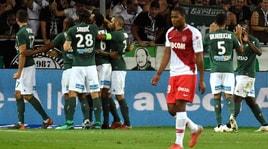 Ligue 1, il Monaco non sa più vincere. 2-0 Saint-Etienne