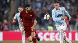Serie A, diretta Roma-Lazio dalle 15: formazioni ufficiali e dove vederla in tv