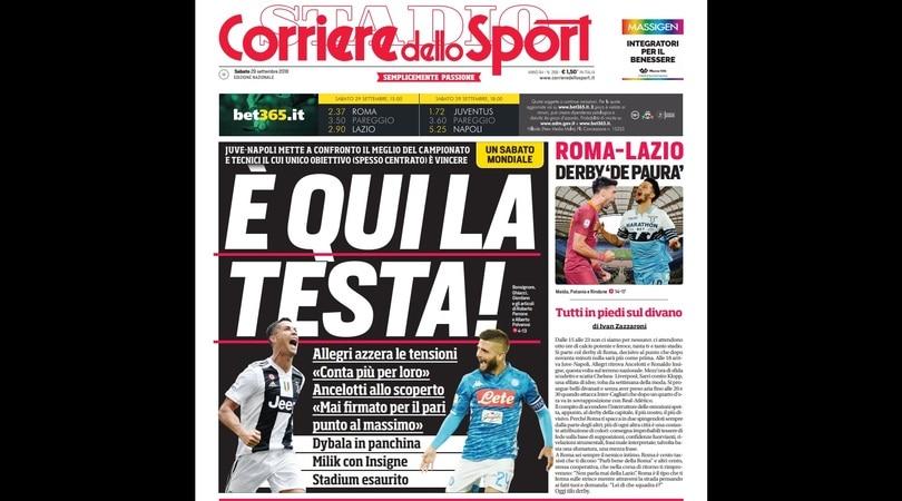 Derby, Inzaghi lancia la Lazio: