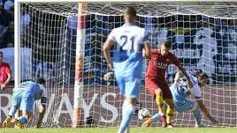 Roma-Lazio, Pellegrini sblocca il derby con un colpo di tacco