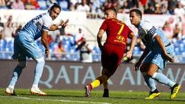 Serie A Roma-Lazio 3-1, il tabellino