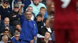Premier, Chelsea in vetta: Sarri avanza nelle quote per il titolo